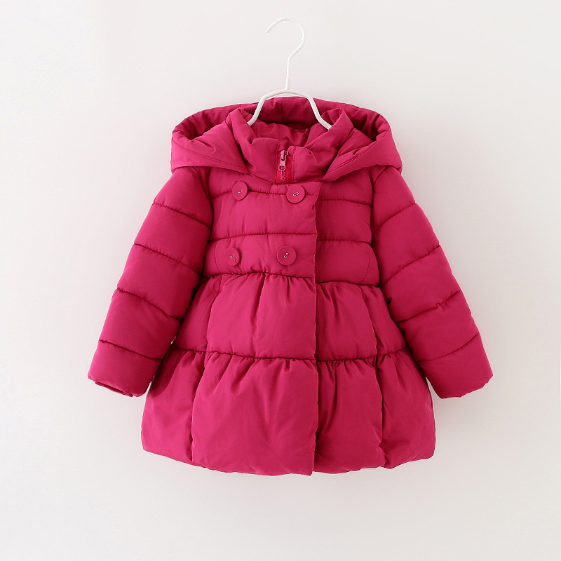 Baby Girls High Quality Warm Coat  Princess Boutique Fashion Outwear  Pink 4pieces/lo<br><br>Aliexpress