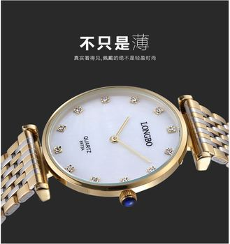 Relojes Mujer New Fashion Classic Women Dress Watch 30M Water Resistant Full Stainless Steel Wrist Watch Ladies Quartz Watches