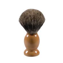 Профессиональные мужские Лучший Барсук Помазок Деревянная Щетка Волос Ручка Парикмахерская Инструмент Кружка(China (Mainland))