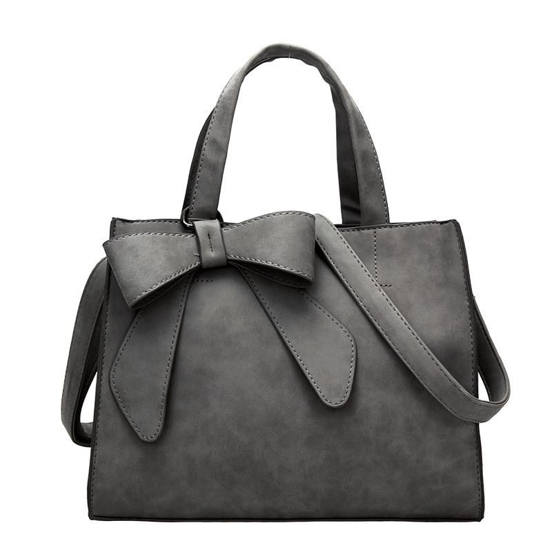 2016 New Korean bow Handbag Summer Frosted Bag Messenger Long Single Strap Portable Shoulder Bag Wholesale(China (Mainland))