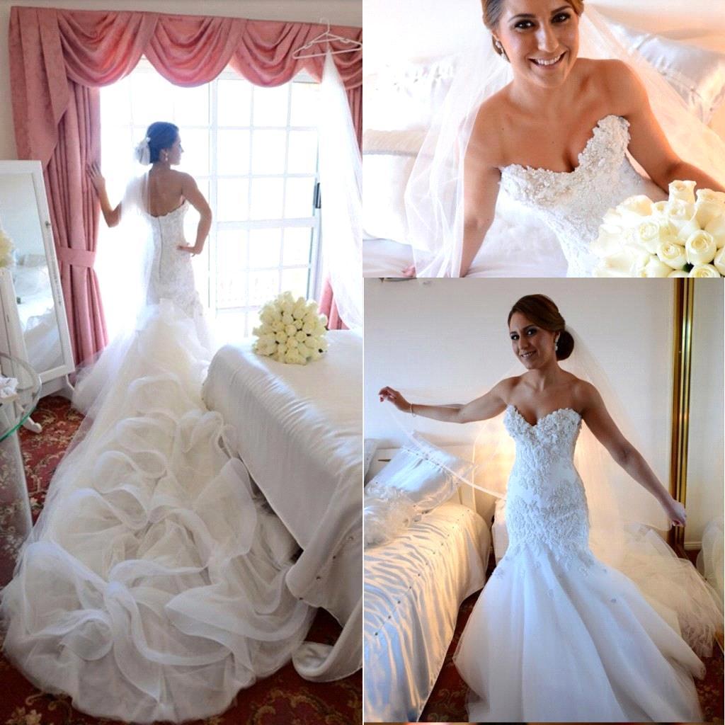 Aliexpress Buy y Sweetheart Mermaid Wedding
