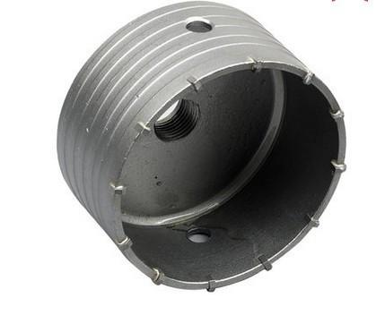 Купить Бесплатная доставка профессиональный 100*72 * M22 твердосплавным стены кольцевая пила для воздуха condtiional отверстия открытия кирпич, бетонные стены