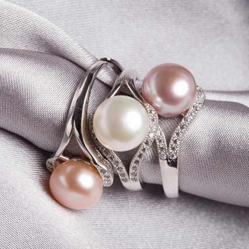 3 color! 925 Sterling Silver ADJUSTABLE Real Freshwater Pearl Ring 8-9mm Big Size Jewellery Fashion Finger Ring Hot for Women(China (Mainland))