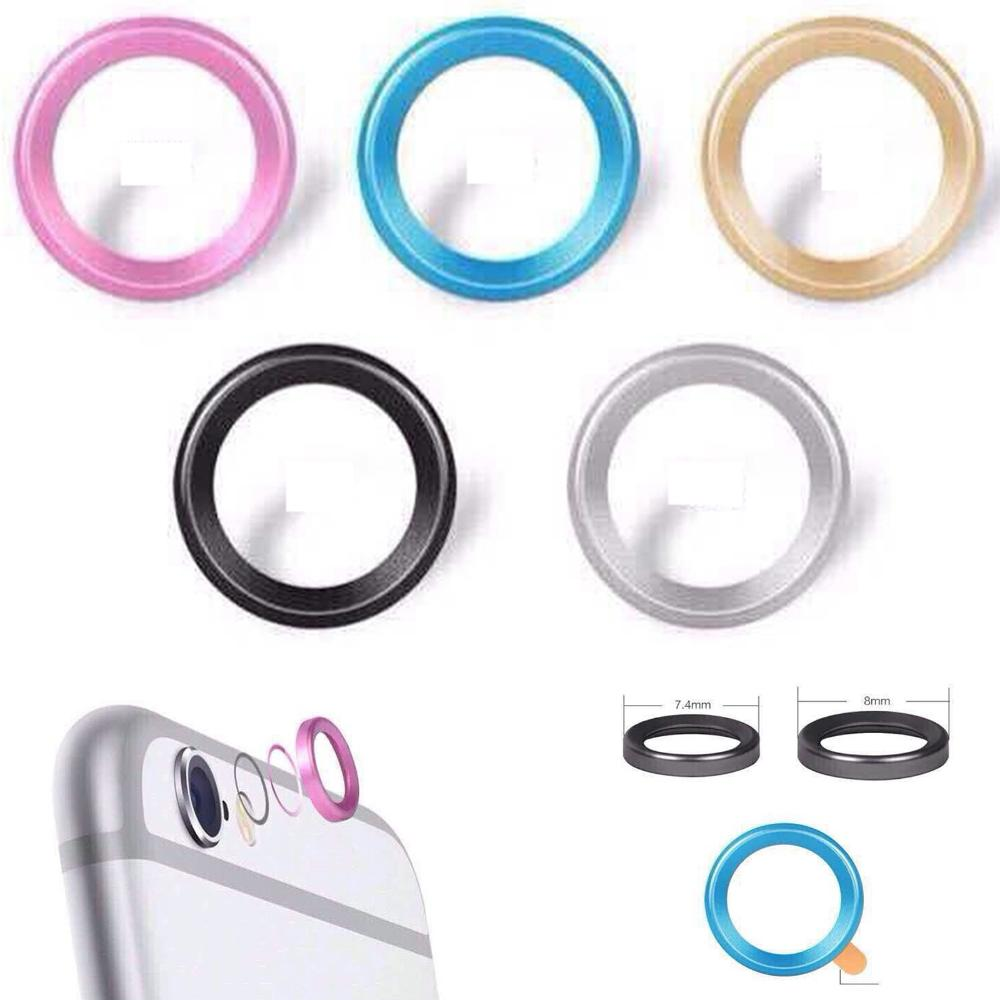 Cool Rear Camera Lens Metal Protective Ring Guard Circle Cover Case Protector iPhone6 iPhone 6 6plus - ET INTERNATIONAL store