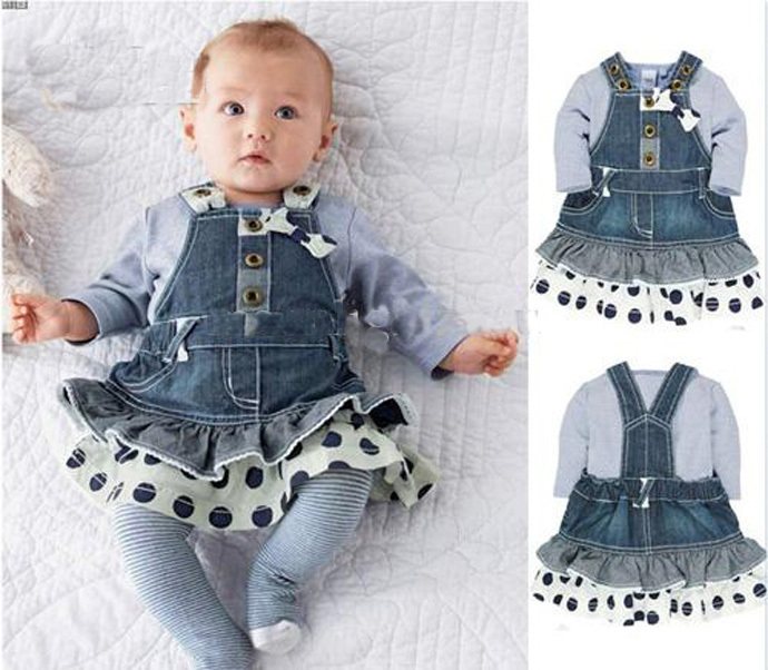 Discount Designer Clothes For Children baby girl clothing new