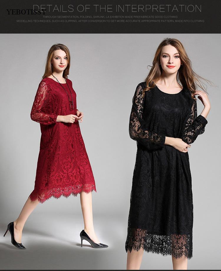 lace dress 2017 plus size (4)