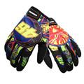 guantes gants moto Men Women Print Motorcycle Gloves Motocross Off Road Racing Glove Motorbike Bicycle Outdoor
