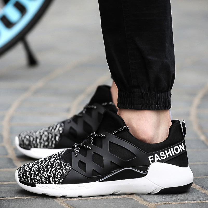 New spring quality character Mens Casual Shoes Fashionable teenagers comfortable breathable outside walking Men s flat
