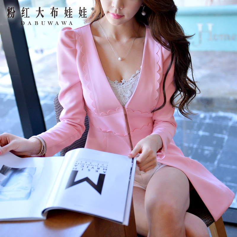 Poly windbreaker Pink Doll 2015 new spring coat coat the Korean version of womens fashionОдежда и ак�е��уары<br><br><br>Aliexpress