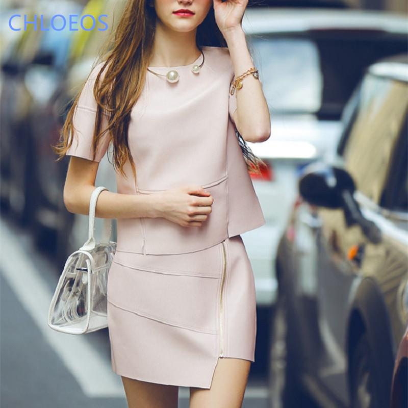 Spring 2017 couture waist slim PU leather stitching silver white pink bag hip skirt skirt women Ms weoman girl(China (Mainland))