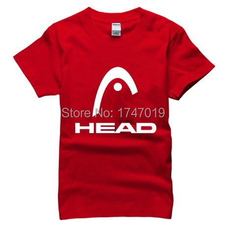2015 famous tennis new brand HEAD T Shirt cottont Indians head t-shirt man top casual man short sleeve plus size(China (Mainland))
