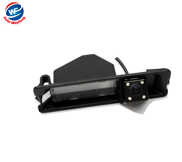 CCD HD Night vision 4 LEDS Special Car Rearview Rear View Reverse backup Camera for Nissan March Renault Logan Renault Sandero(China (Mainland))