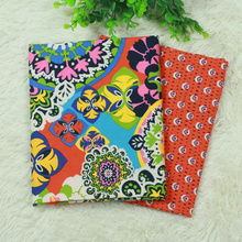 Retro Orange Series cotton fabric vb plain weave Bundle quilting tilda diy sewing cloth 2pieces 150 * 50cm - Amy Handmade Store store