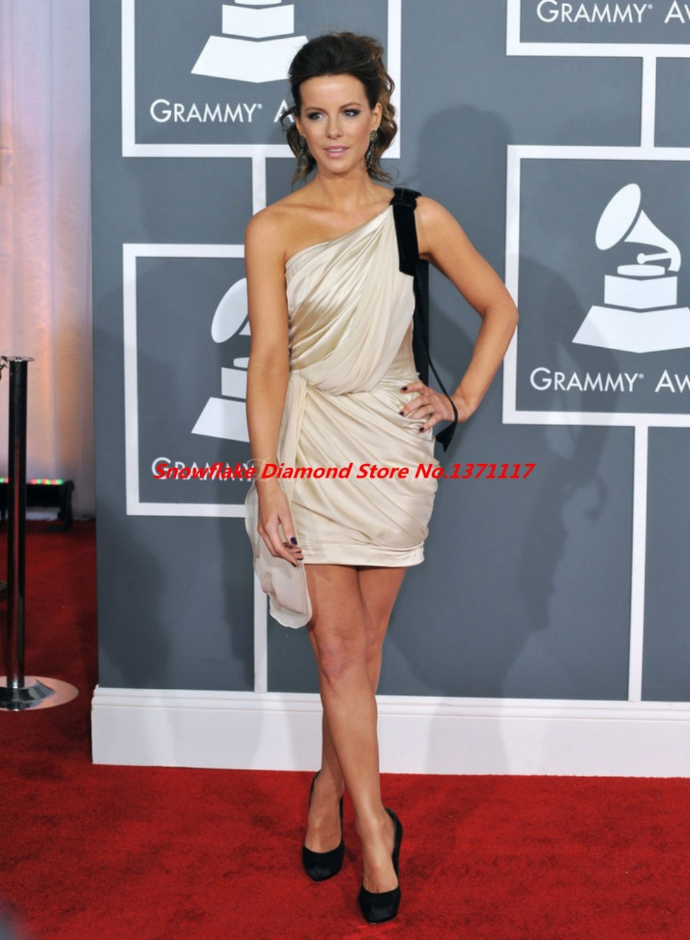 Famous Celebrity Dresses Classica Scalloped Short Party ...