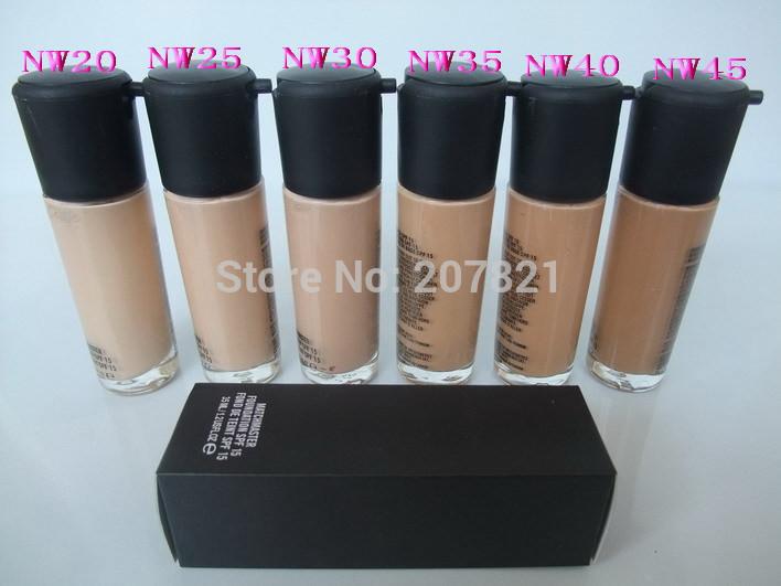New 2014 Skin Eyeshadow Base Facial Makeup Foundation mc Brand Liquid Makeup Foundatipn Face Care Professional Makeup comestic(China (Mainland))