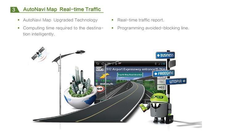 Car dvd GPS Navigation player 7