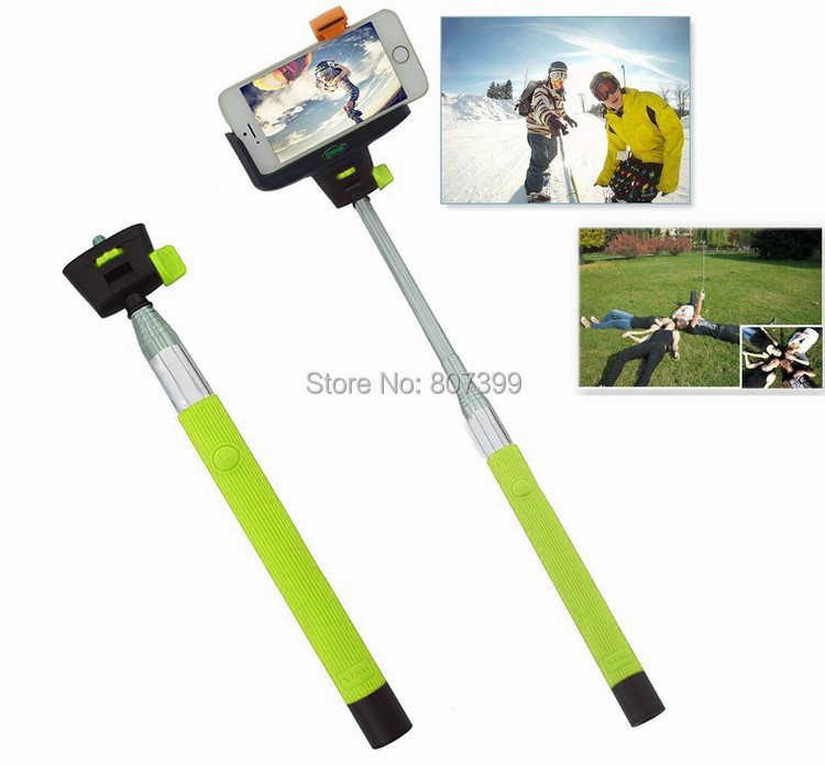 For pau de selfie para Samsung Galaxy iPhone 6 5 S Bluetooth Extendable Handheld pau de Selfie Monopod tripod Pole Stick android(China (Mainland))