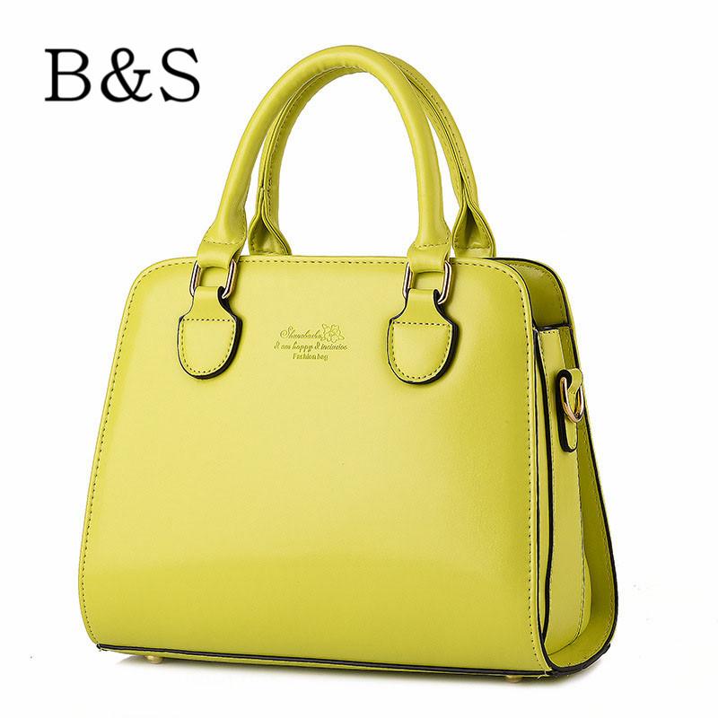 2016 Famous Designer Brand Bags Women Leather Handbags Fashion Women Messenger Bags Shoulder Over Bags Briefcase Female 10 Color(China (Mainland))