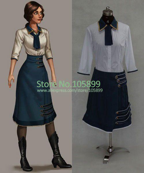 Потребительские товары Cosplay BioShock 3 потребительские товары cosplay 2015 dress