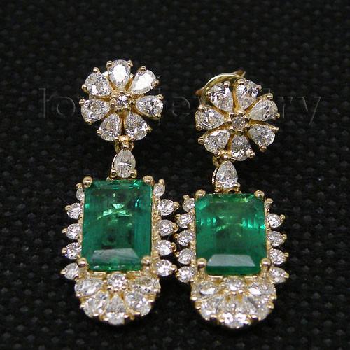 emerald earrings-1