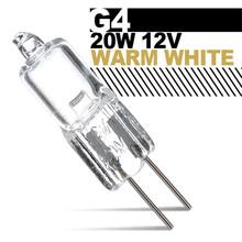 High Quality G4 20W Halogen Lights Warm White Small Landscape Lighting Lamp Bulb DC12V(China (Mainland))