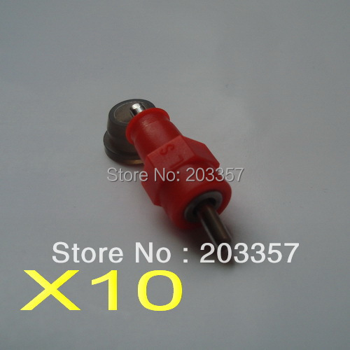 X10 Push style red poultry chicken bird quial nipple drinker waterer ball seal - SHANGHAI LUSEN Mechanical Equipment Co., Ltd. store