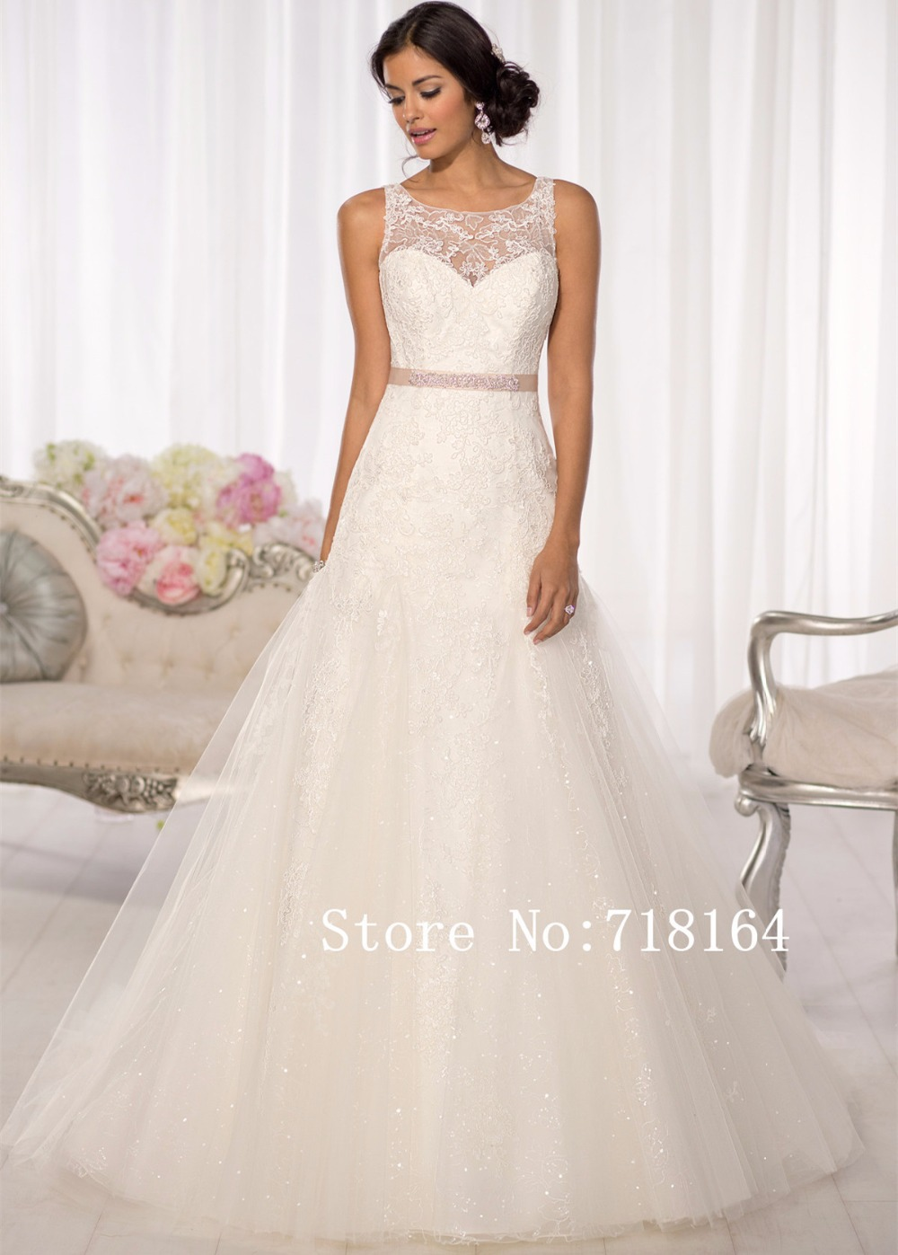 Buy Classical Lace Mermaid Wedding Dress