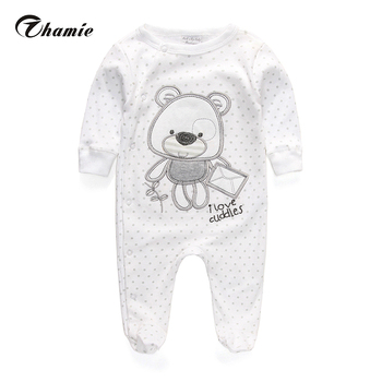 Baby Clothing 2016 New Similar Carters Newborn Baby Boy Gril Romper Clothes Long Sleeve Infant Product