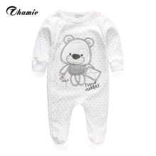 Baby Clothing 2016 New Newborn Baby Boy Gril Romper Clothes Long Sleeve Infant Product(China (Mainland))