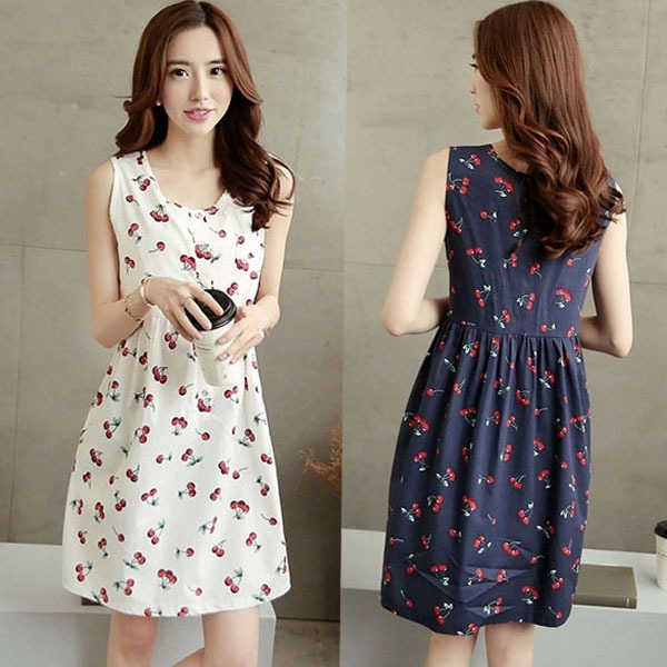 Cute Cheap Clothes Online For Women Summer Cute Cherry Printing