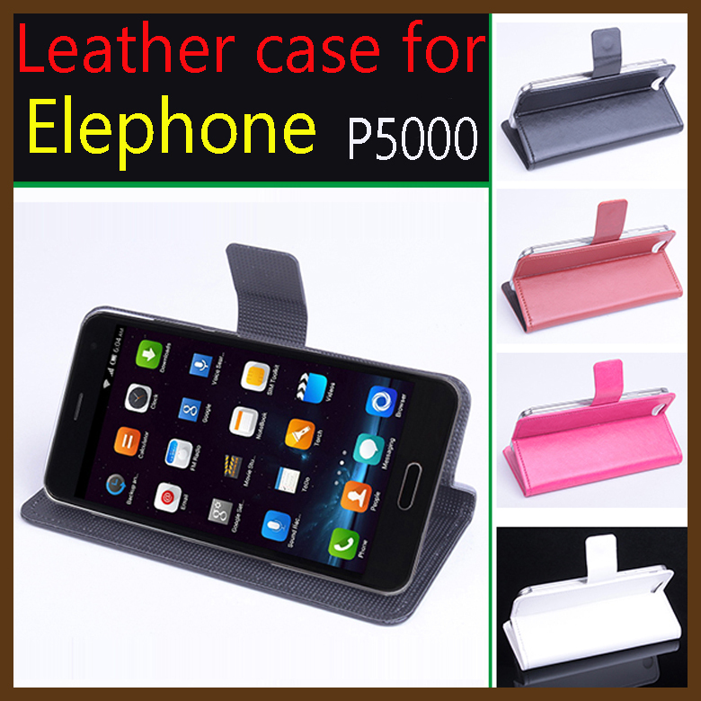 For Elephone P5000 Case!!High Quality Luxury Leather Flip Cover Cases For Elephone P 5000 Mobile Phone with Wallet In Store(China (Mainland))