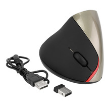 Buy 1pcs Wireless Ergonomic Vertical Optical USB Mouse 5D Optical Mouse PC Laptop hot new for $8.99 in AliExpress store