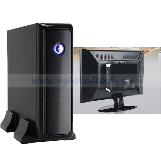Mini PC Windows CPU AMD E350, 4G DDR3, 64G SSD Mini ITX Case HTPC Net Computer, DVI Mini PC Mini Computer Windows 7 Software