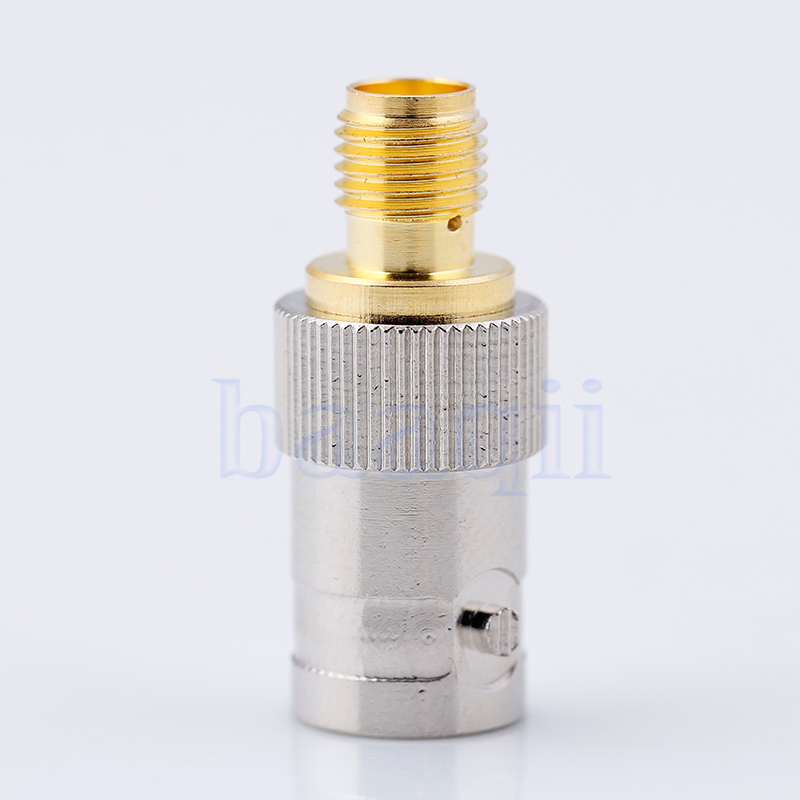 SMA to BNC SMA-F to BNC-F Adapter Adaptor Connector for BaoFeng UV-5R UV5R TR HG656(China (Mainland))
