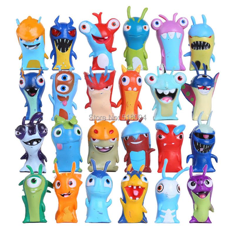 Гаджет  Anime Cartoon Mini Slugterra PVC Action Figures Toys Dolls Child Toys 24pcs/set DSFG199 None Игрушки и Хобби