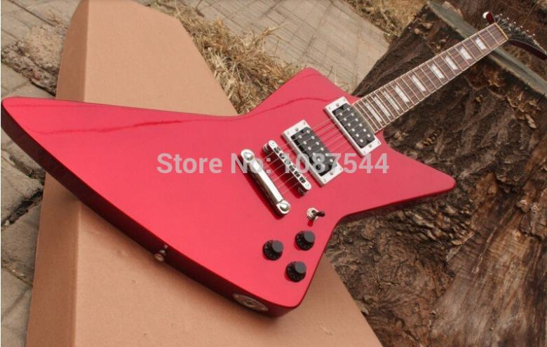 custom shop Wholesale LP Standard Harrison Clapton 1957 LUCY Signature Red Electric Guitar Chinese factory(China (Mainland))