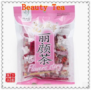 100g=10 Small Bags;China Beautiful Face Tea Flower Tea Rose Goji Berries Combination Scented Tea For Health Drink Free Shipping<br><br>Aliexpress