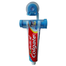 Creative Rolling Squeezer Toothpaste Dispenser Tube Partner Sucker Hanging Holde Bathroom Sets IC677564(China (Mainland))