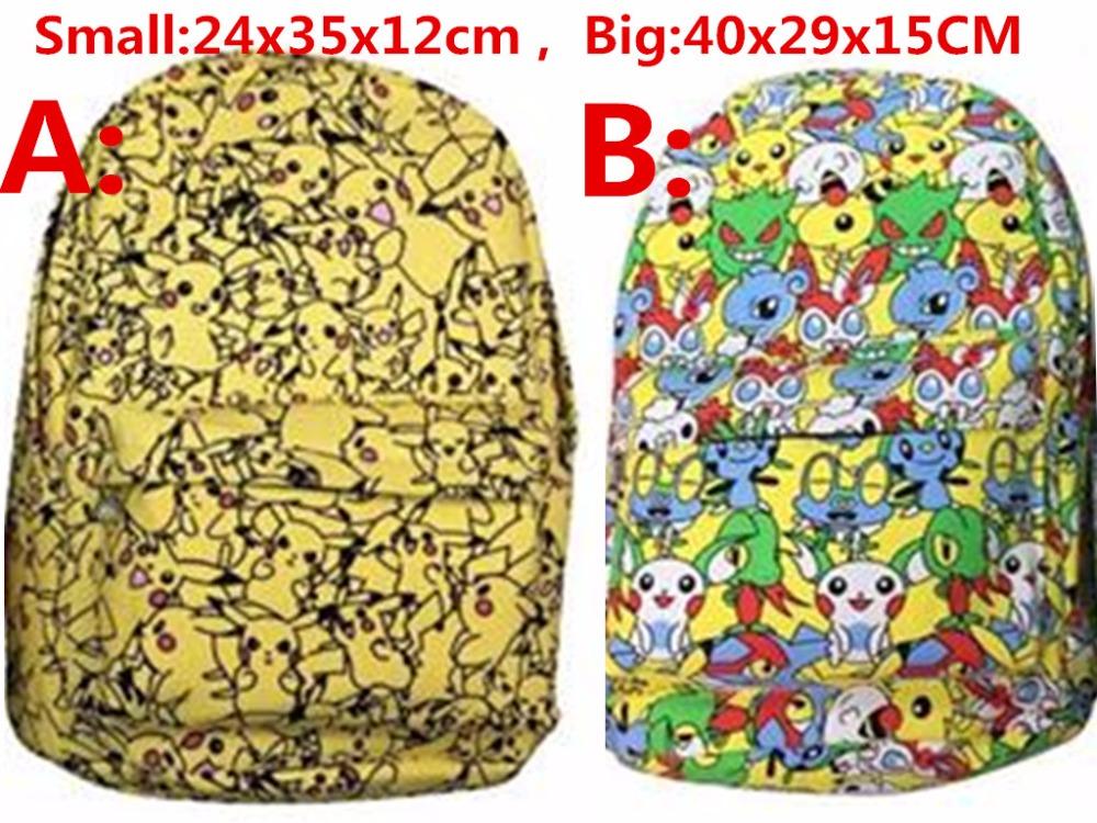 font b Pokemon b font font b GO b font Center Outdoor Pikachu Daypack Japan