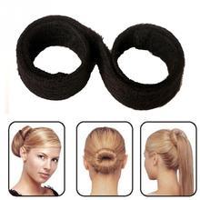 Hair Accessories Synthetic Wig Donuts Bud Head Band Ball French Twist Magic DIY Tool Bun Maker Sweet French Dish Made Hair Band(China (Mainland))