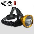Portable 8w 1600 Lumen Led Headlampe Frontale Flashlight Lantern Led Headlight Head Lamp for Outdoor Camping
