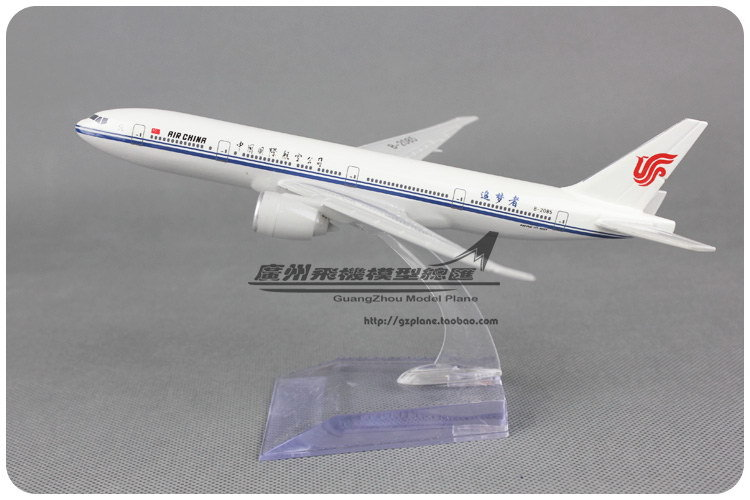 19cm Resin Air China Airlines Airplane Model Boeing 777 B777 B-2085 Airways Plane Model Toy Free Shipping(China (Mainland))