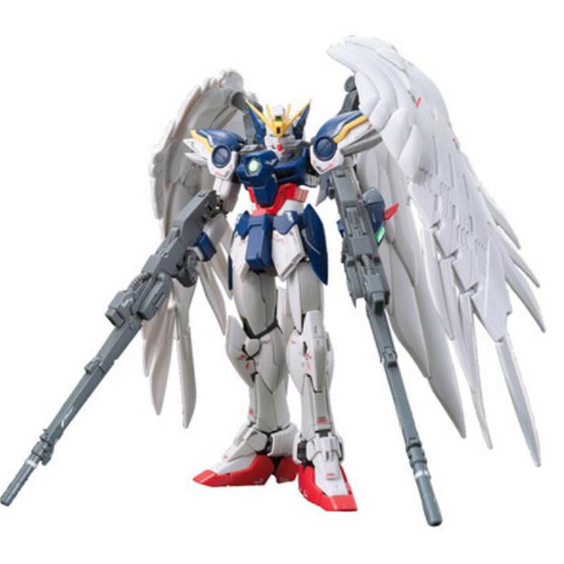 Starz BANDAI RG 1/144 WING GUNDAM ZERO EW XXXG-00W0 Model Anime Building Kits Figures Colletion Robot Toys