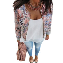 Women Floral Fashion Slim Casual Winter Blazer Suit Jacket Coat Outerwear Tops