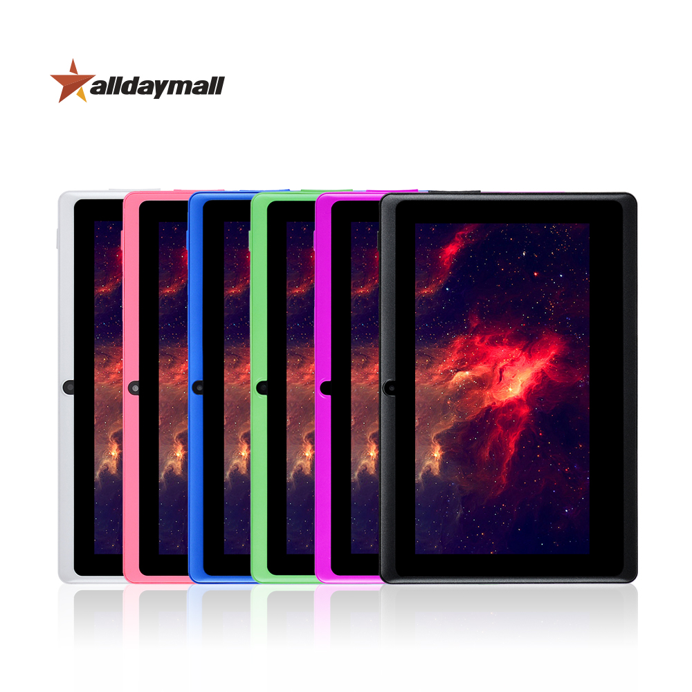"""Alldaymall A88X Cheapest Tablet 7"""" Android Tablet pc Allwinner A33 Quad Core 1024*600 HD Tablet Android 7 inch Tablets 8GB ROM(China (Mainland))"""