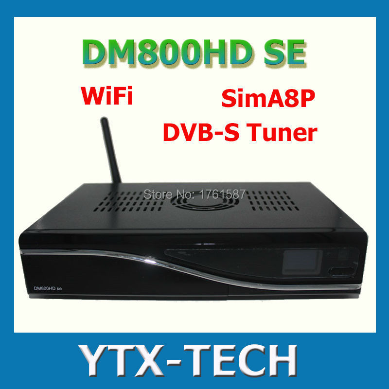 NEW ARRIVAL! dm800se wifi Sim A8P HDTV digital satellite receiver hd Linux Operating System,DVB-S2 free shipping(China (Mainland))