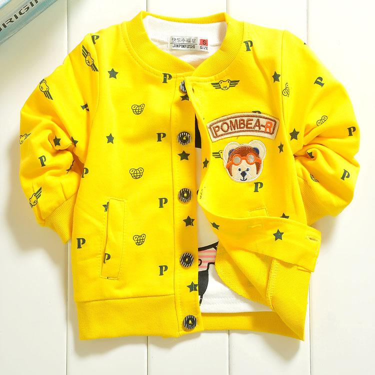 2014 New Arrival Autumn Baby Girl Jacket Unisex Full Sleeve O-neck Dots Kids Cardigan Coats & Jackets 3 Color Selected Wholesale(China (Mainland))