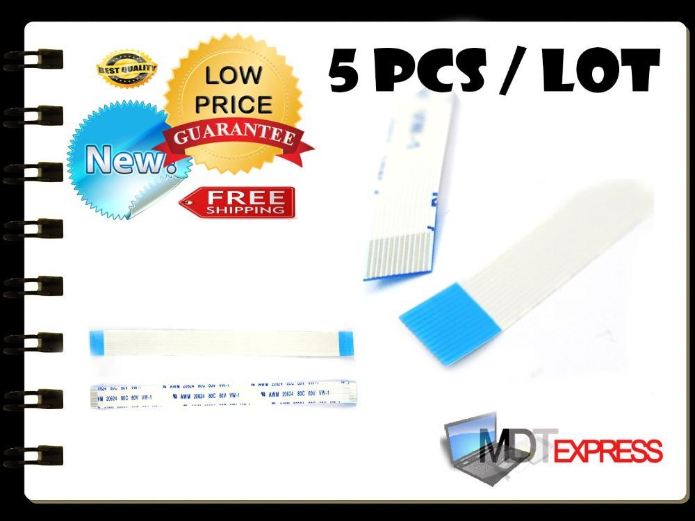 New! 5pcs/lot Flat Switch Ribbon Flex Cable Power Button 12pin for HP DV9000 CTO DV6000 Series E118077 AWM 2896 80C VW-1(China (Mainland))