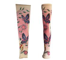 2pc=1pair tattoo sleeves fancy dress party arm Oversleeve cuff Fake arm warmer body art cycling Sunscreen harajuku sleeves 43-74(China (Mainland))