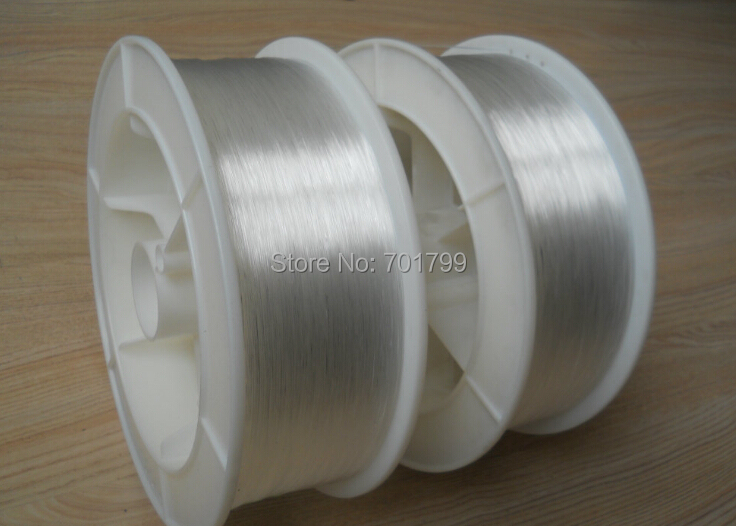 1.5mm diameter/700m/roll PMMA fiber optic cable end glow for decoration lighting(China (Mainland))